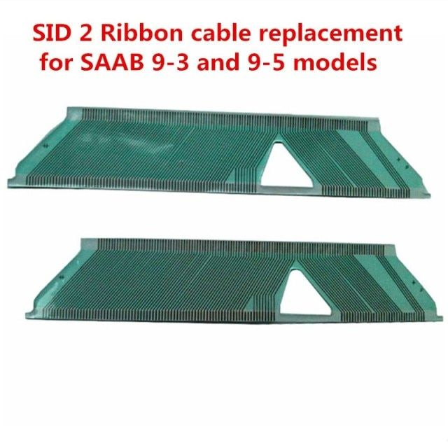 10pcs/lot For SAAB SID2 SID 2 9-3 9-5 Flat LCD Connector Dead Pixel Repair Instrument Cluster Ribbon Cable