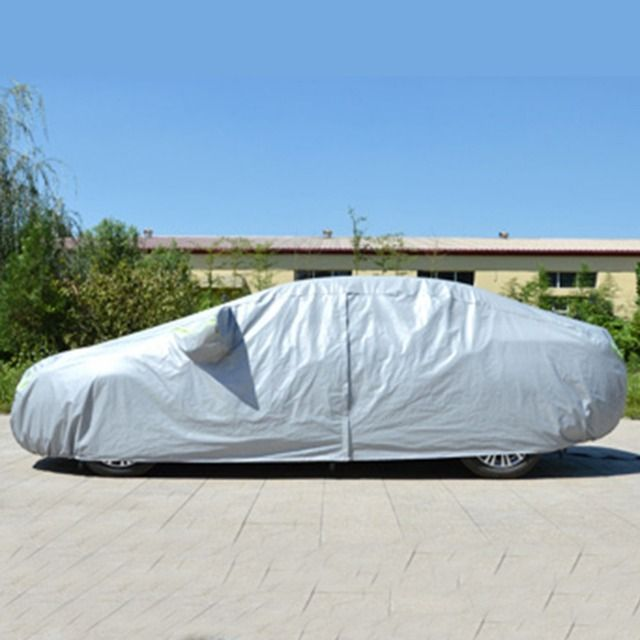 Full Car Cover 3XL/XL/YXL Car-styling silver Waterproof Car covers Sun UV Snow Dust cars Rain Resistant Protection