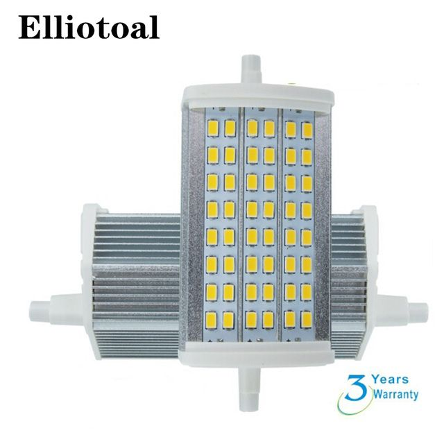free shipping high power led street lights smd5730 r7s 118mm 15w dimmable with 48pcs  samsung SMD5730 r7s led 118mm 15w