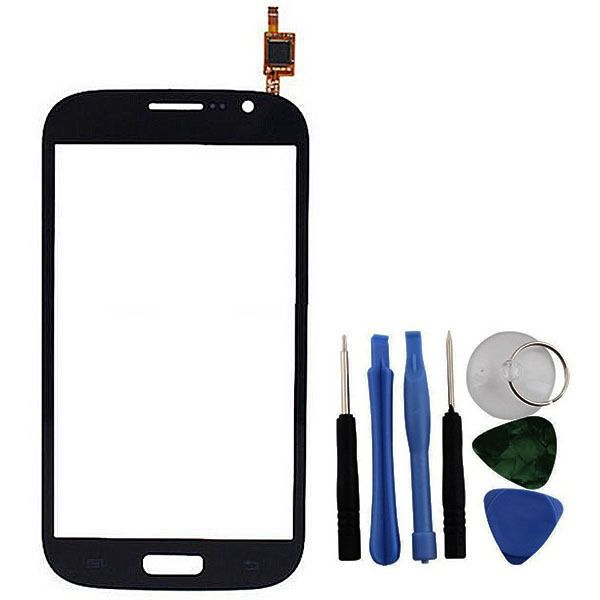 Black Touch Screen Digitizer Front Glass Lens & Tools For Samsung Grand Duos i9082 i9080 GT-i9082