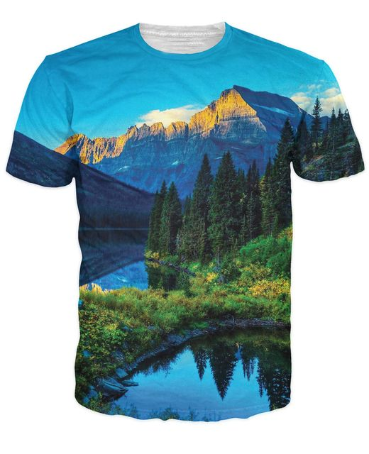 What Juneau about Alaska?The grass/mountain/water combination Alaska T-SHIRT women shirt summer sexy men tee plus size clothing