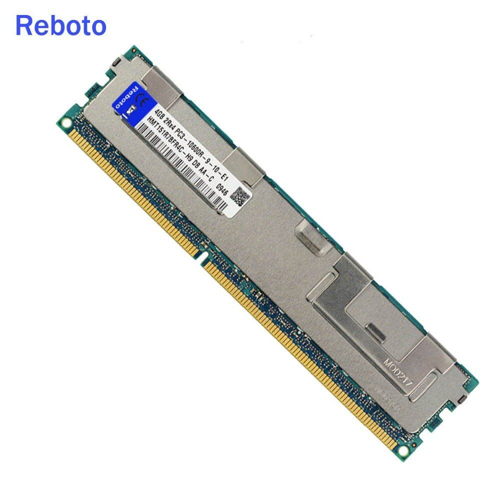 4GB DDR3 PC3 10600R 1333Mhz 4GB 2RX4 240pin Server RAM Only ECC Server Reg Memory