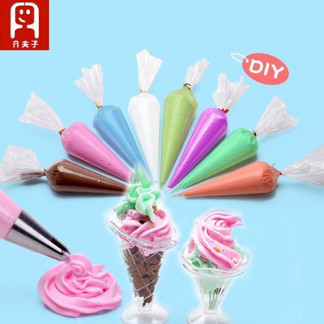 Colorful Resin Simulation Ice Cream Toys Gel Mix color for Creating Miniature Food Toys DIY Mobile Phone Case Beauty Cake glue