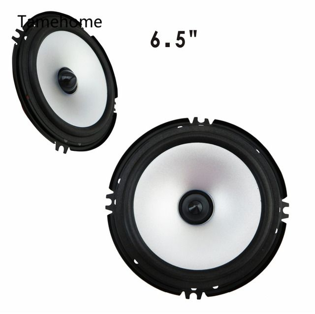 2 Pair 4 piece Full Frequency 6.5 inch Car Speaker Automotivo Auto Car Audio System Subwoofer Loudspeaker Speaker Tamehome