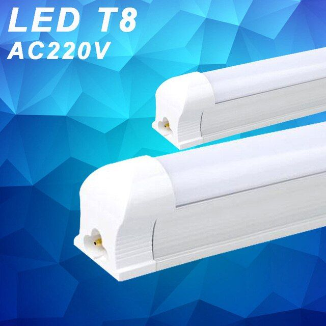 YNL 4pcs/lot T8 led Tube 600mm Integrated LED Tubes Light Bulb 10W 220v Cold Warm White Bombillas LED Lamp SMD 2835