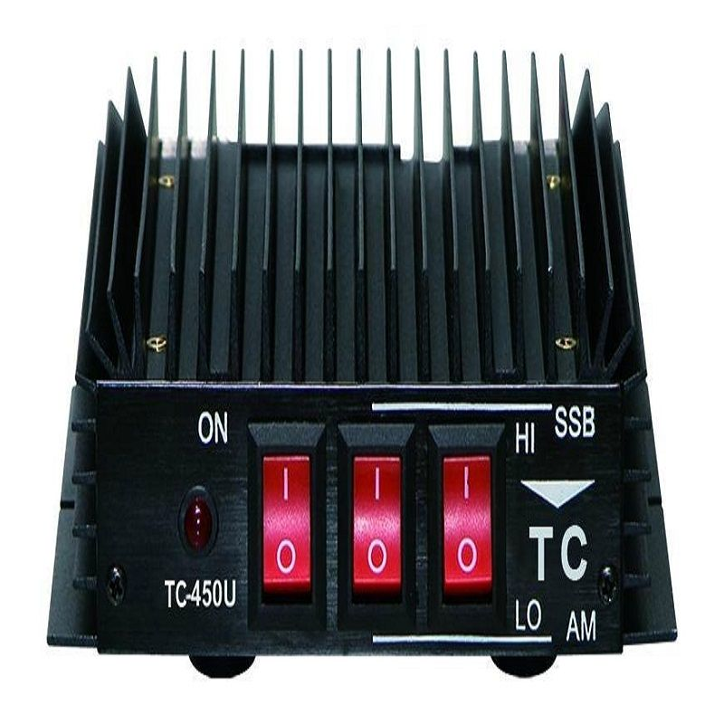 HYS TC-450U UHF 50W Power HF Amplifier for Ham Radio Two Way Radio HF Transceiver Walkie Talkie