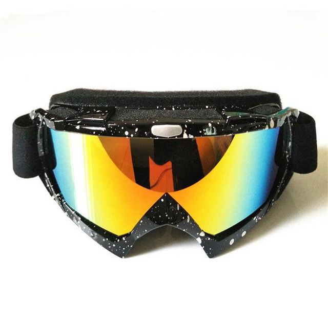 Hot Winter Ski Snow Snowboard Snowmobile Goggles Motorcycle Motocross Off-Road Eyewear Downhill Dirt Bike ATV Glasses