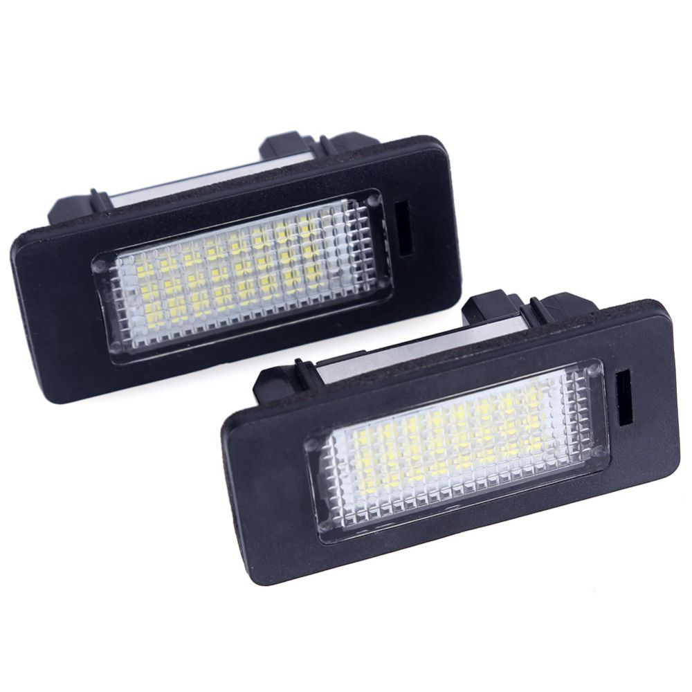 2pcs/Lot For bmw e39 e60 led license plate light 6000k led number plate Light lamp For bmw e60 E70 X5 E39 E61 M5 E88 E93 E92