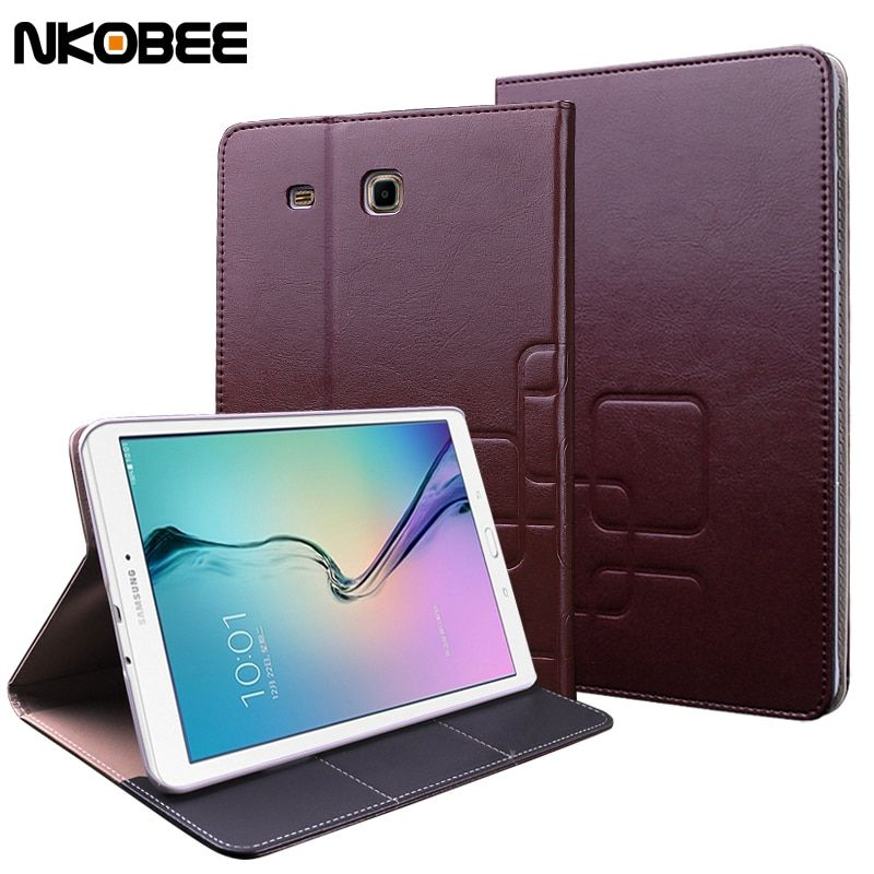 NKOBEE For Samsung Galaxy Tab E 9.6 Case Tablet Leather Cover For Galaxy Tab E 9.6 Case For Samsung Tab E 9.6 T560 T561 Luxury