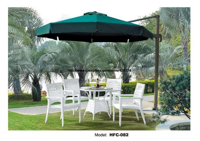Modern White Rattan Garden Set Low Price Wicket Balcony Furniture Set Swing Pool Rattan furniture Garden Set Table Chair Set