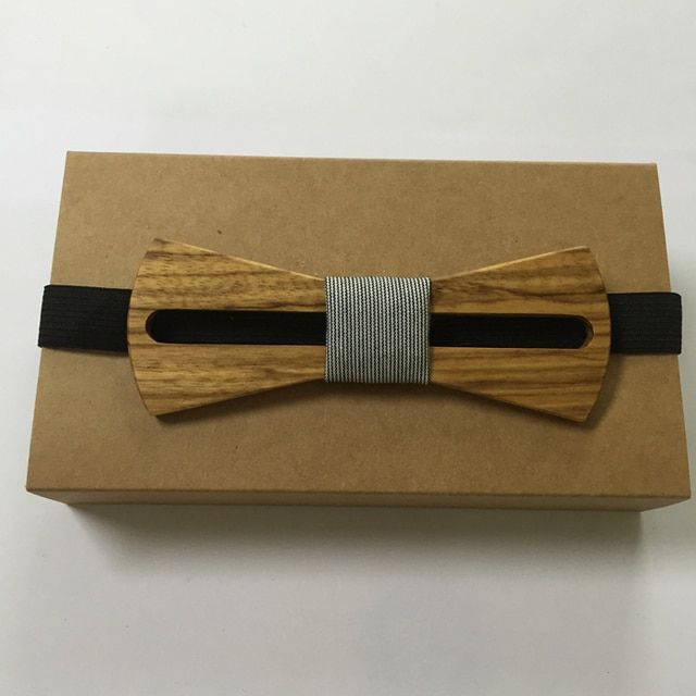 New Classic Hollow Wood Bow Ties for Mens Wedding Suits Wooden Bow Tie Butterfly Bowknots wood bowtie for men