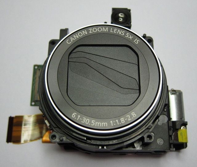 Free shipping Zoom Lens Assembly Unit Replacement Repair for Canon G15