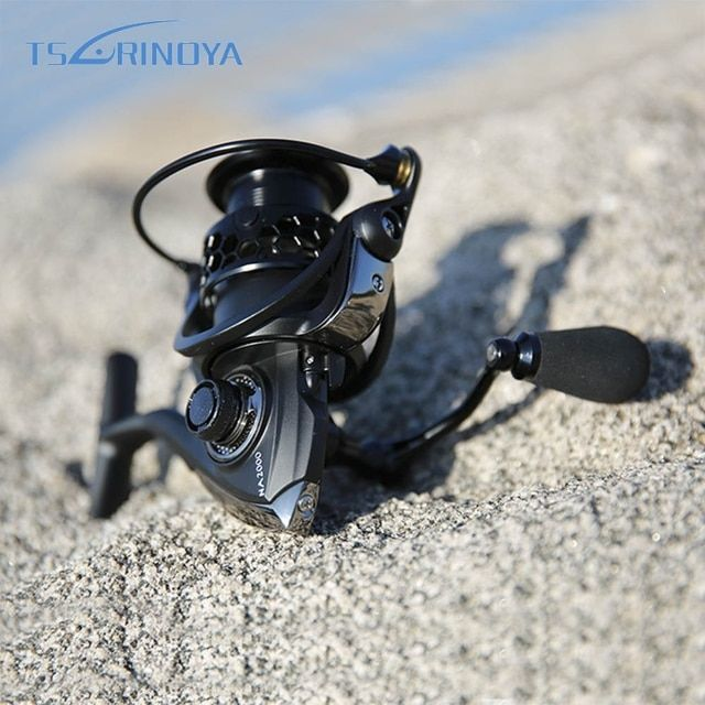 TSURINOYA NA2000 3000 4000 5000 9BB 5:2:1 Aluminum Fishing Spinning Reel Fish Tool Fishing Reel Durable Practical
