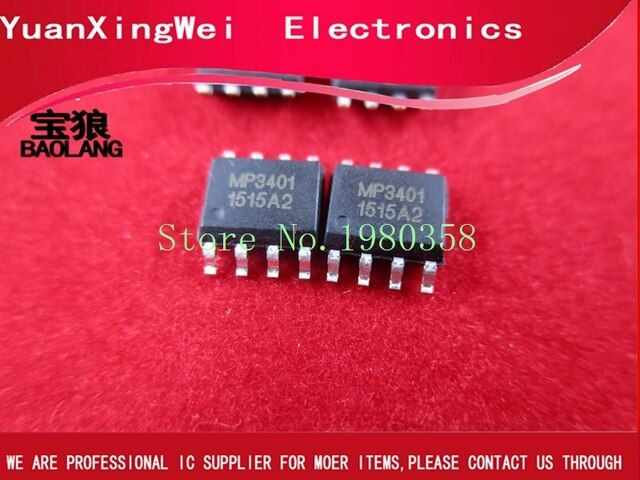 10pcs SOP8 new and original part, in stock MP3401