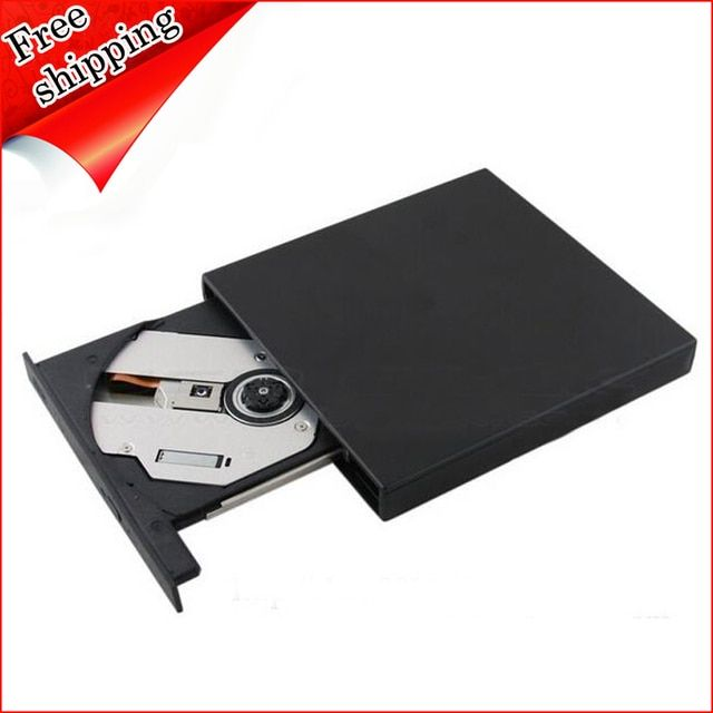 USB 2.0 External DVD Drive Lightscribe for Asus Vivobook S550CA S551LB S550CB Mini Laptop PC 8X Dual Layer DVD RW DL Burner New