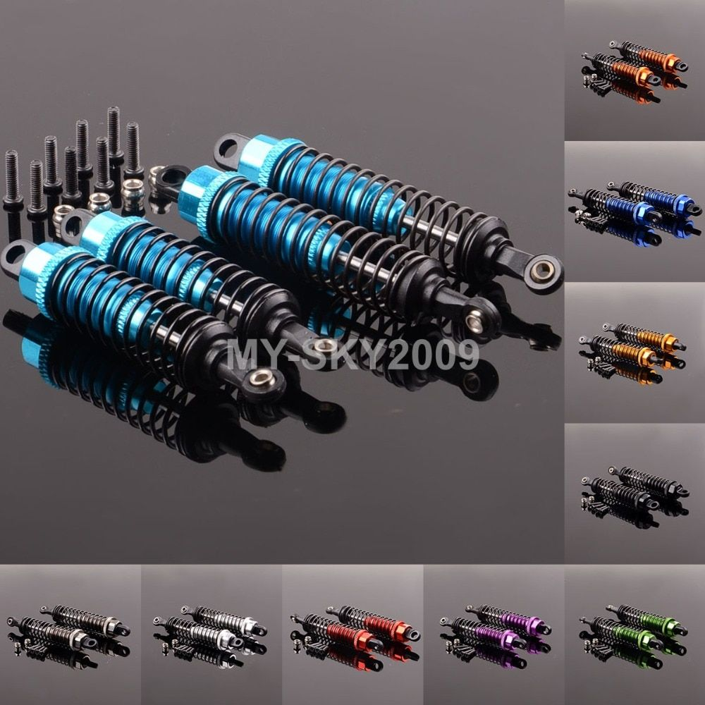 Front & Rear Shock Absorber 959-31 & 959-32 For 1:12 WLtoys L969 L979 L202 L212 L222 K959 L959 WL toys Racing