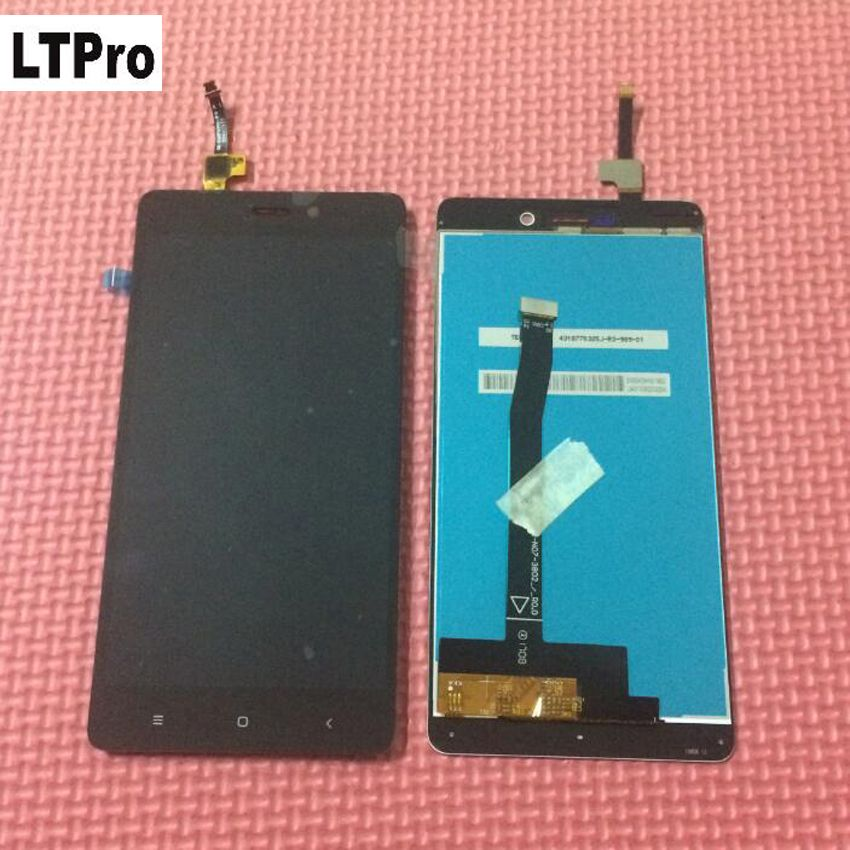 LTPro TOP Quality Tested Working LCD Display Touch Screen Digitizer Assembly For Xiaomi Redmi 3 Pro Prime Phone Replacement