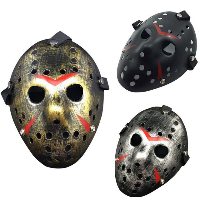 2018 Halloween Mask Jason vs Friday The 13th Horror Hockey Mask Halloween Party Cosplay Scary Mask