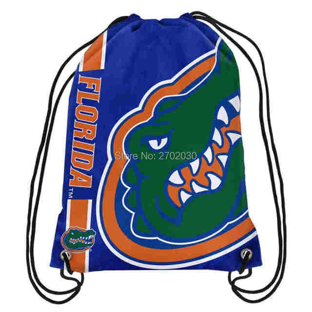University of Florida Gators Basketball Team Drawstring Bags Men Sports Backpack Digital Printing Pouch Customize Bags 35*45cm