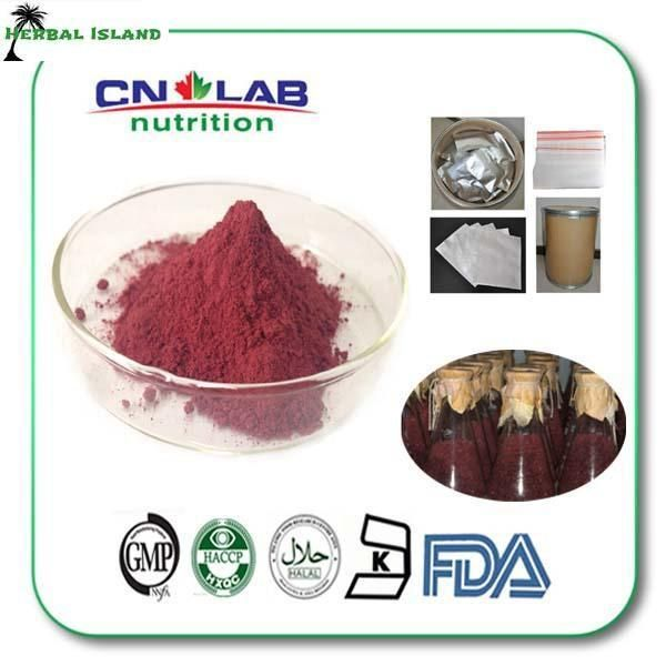 free shipping 100g 4% red yeast rice extract powder products