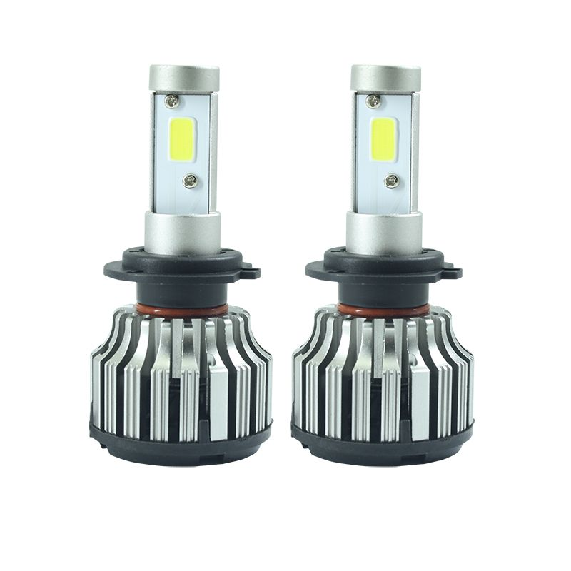 2x Car styling Car H7 H4 LED Headlights Bulb HB2 9003 HB3 9005 HB4 9006 H27 880 881 H3 H8 H9 H11 H1 LED H7 H4 Lights for Car