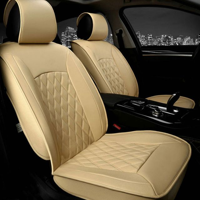 Universal PU Leather car cushion 5 seat Use MG for Hyundai ,Kia ,skoda ,Honda , High quality special Car Seat  Covers