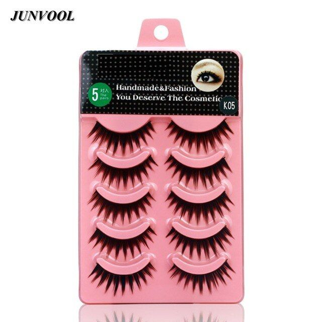 Soft Makeup Eye Lashes Extension Latest 50 Pairs Black Natural Long Thick Fake False Eyelash Stage Bare Makeup Lashes Tools