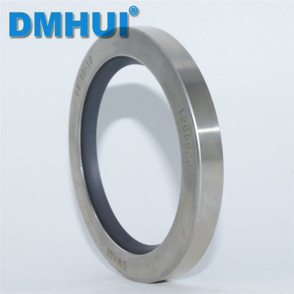 DMHUI Brand 68*90*10/68x90x10 Single lip rotary screw air compressor stainless steel PTFE oil seals ISO 9001:2008 68*90*10mm