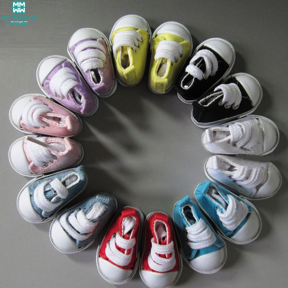 1pair 5cm mimi doll shoes sneakers sports shoes for 1/6 Bjd dolls Accessories