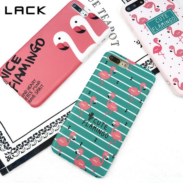 LACK Cute Flamingos Phone Case For iphone 6 Case Fashion Letter Stripe Plants Cactus Soft IMD Back Cover For iphone 6 6s Plus