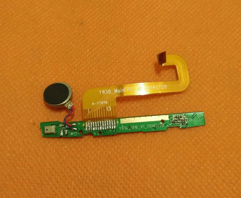 "Used Original Microphone Mic Board for Mlais M9 MTK6592 Octa Core 5.0"" QHD 960 x 540 Free shiping"