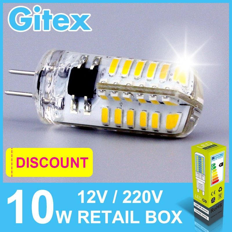 LED G4 Lamp Bulb 3014SMD AC 220V 3W 4W 5W 7W 9W 10W LED Lights AC DC 12V G4 Lamps for Lighting Spotlight Chandelier