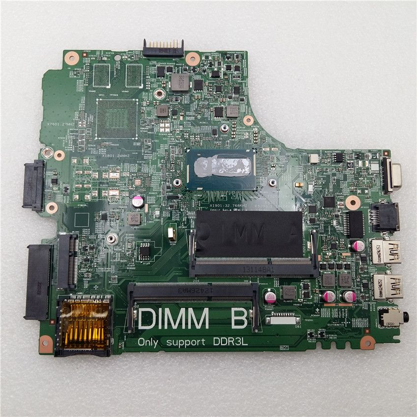 For Dell 3440 Motherboard Laptop Mainboard w/ I3-4100U GO0105 CN-0GO0105