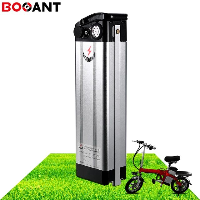 36V 20Ah 15Ah 12Ah 750W 1000W electric bicycle battery for Samsung 30B 18650 10S 36V 250W 500W Silver Fish lithium battery pack