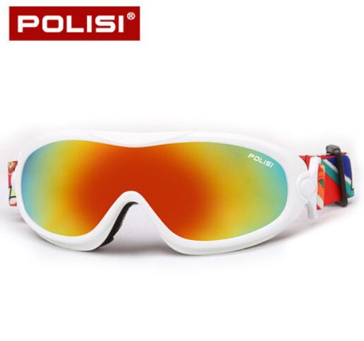 POLISI Men Women Winter Skiing Motorcycle Eyewear Snowboard Snowmobile Skate Googles Anti-Fog UV400 Ski Snow Protective Glasses