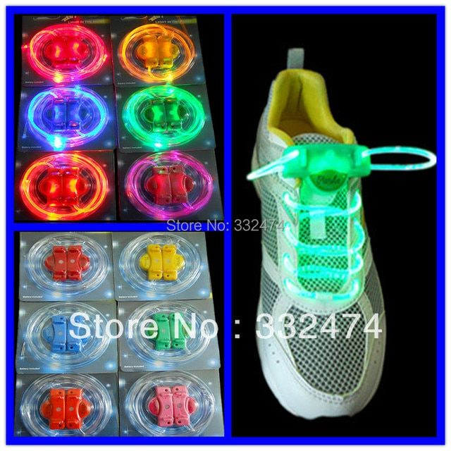 5 Pairs Silicone Shoelaces Luminous Glowing Led Flash Shoelaces Sneakers Male Female Sneaker Shoes Strings 83Cm Length