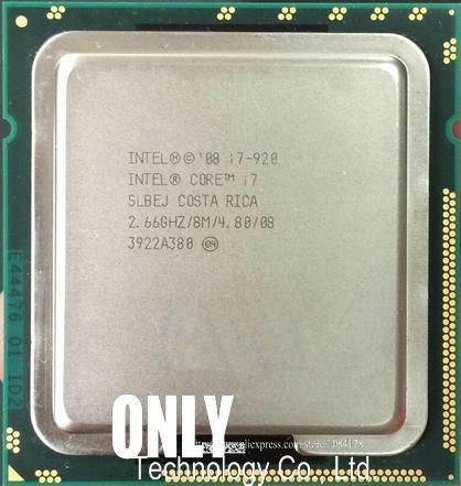 Intel Core i7 920 i7-920 Processor (8M Cache, 2.66 GHz, 4.80 GT/s Intel QPI) SLBEJ DO LGA1366 Desktop CPU
