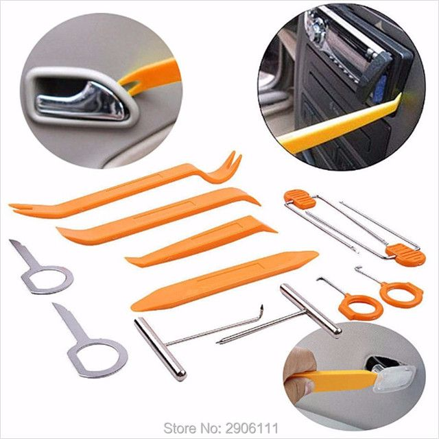12pcs Car Stereo Installation Kits Car Radio Removal Tool for Citroen c2 c4 c5 c4l c3 saxo xsara picasso accessories car-styling