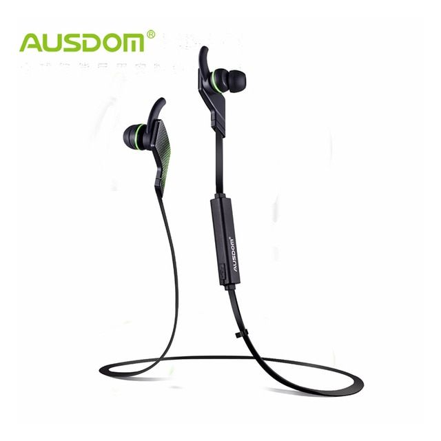 AUSDOM Jogto Wireless Bluetooth Earphones Noise Cancellation deep Bass In-ear Sports Musical Headset with mic for iPhone Xiaomi