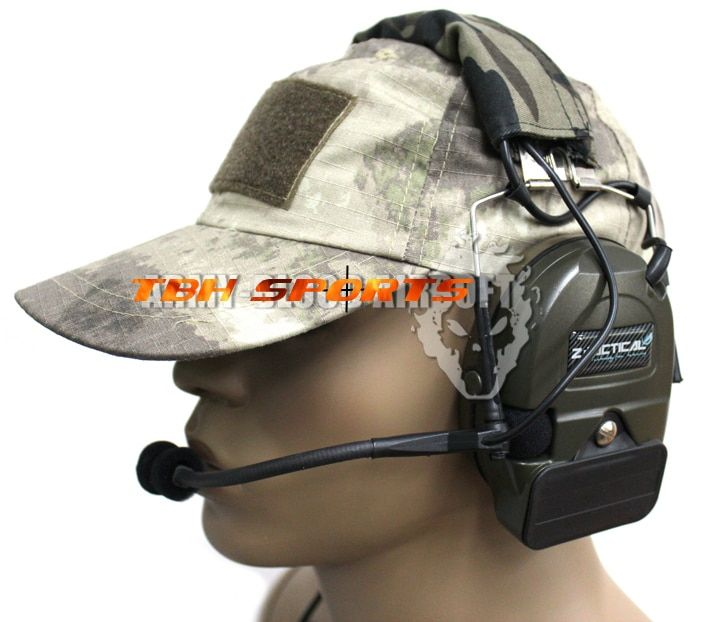 Z.Tactical Comtac I/C1 tactical headset noise reduction headset Gen 4th chip+Free shipping(SKU12060009)