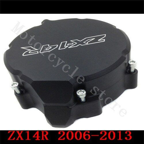 For Kawasaki ZX14R ZX-14R ZZR1400 2006 2007 2008 2009 2010 2011 2012 2013 2014 Motorcycle Engine Stator cover Black Left side