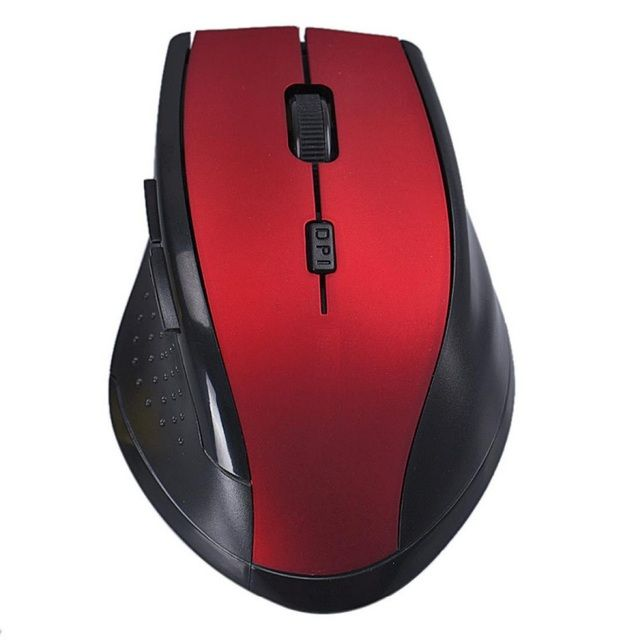 2.4Ghz 10M  6 Keys Optical Wireless Game Gaming Mouse sem fio mause with USB receiver For Laptop Desktop Computer PC Notebook
