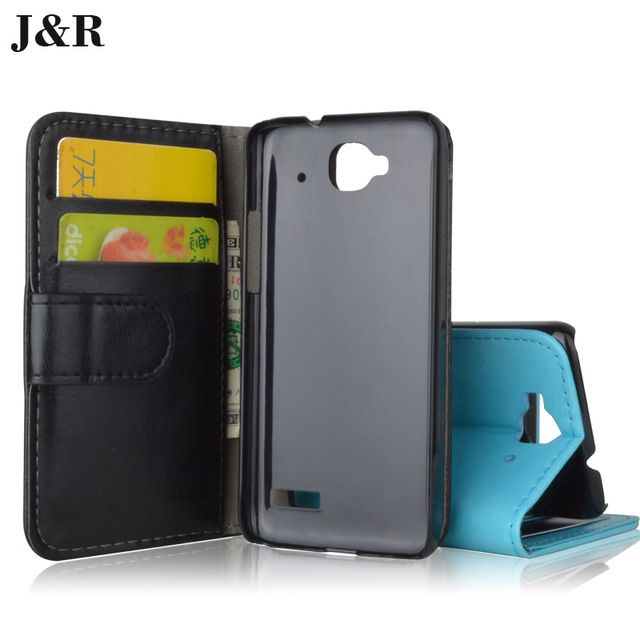 For Alcatel one touch Idol Mini 6012 6012A 6012X 6012W flip cover leather case for TCL S530T / S S530 530 530T T phone cases