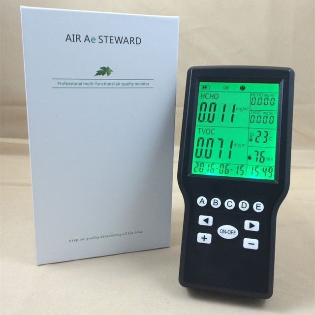 Low Price formaldehyde meter CH2O Monitor air quality tester