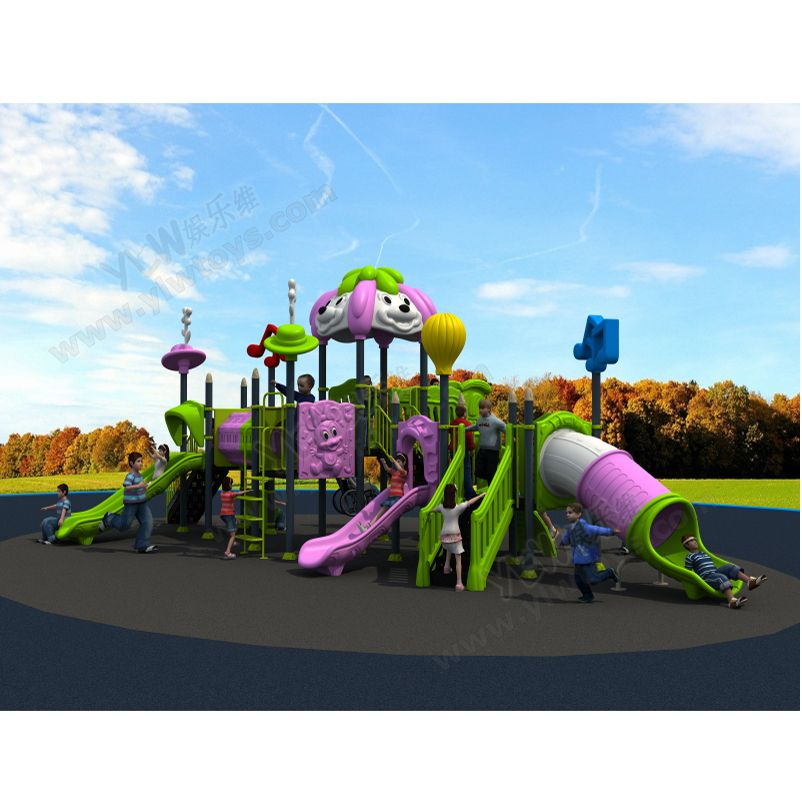 2017 fittness outdoor playground,amusement play structure for park/community/mall,large combined playground slide for kids