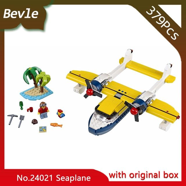 2017 New Bevle Store LEPIN 24021 792Pcs With Original Box Seaplane Building Blocks Set Bricks For Children Toys 31064 Gift