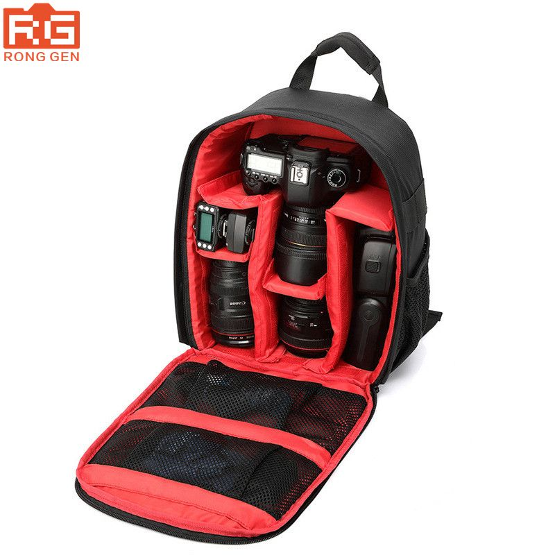 Waterproof Backpack Camera Dslr Bag For Canon Nikon SLR Cameras Rain-proof Multi-functional Digital DSLR Camera Video Bag