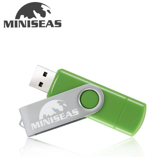 Miniseas usb flash drive real capacity OTG 4g 8g 16g 32g memory usb stick 2.0 pen drive pendrive for smartphone