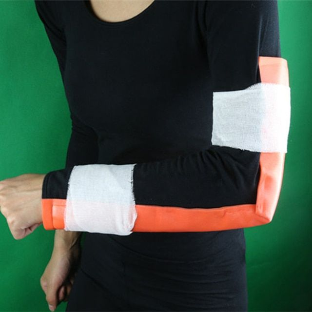 15cmX92cm Emergency Survival Medical Splint Roll Outdoor Emergency First Aid Leg Arm Fracture Fixed Splint Bandage Belt