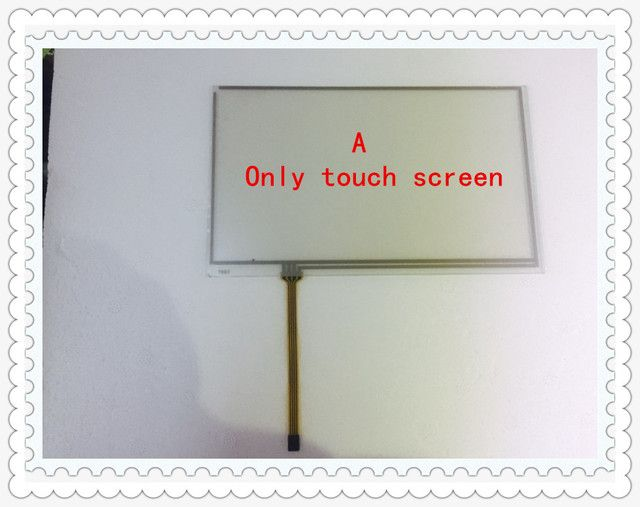 Korg PA900 PA-900 Keyboard 7 inch Touch Screen Glass Panel Digitizer Touch pad Free shipping